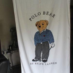 Vintage Polo Bear Ralph Lauren Towel